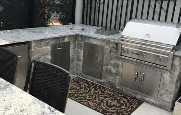 Bonita Springs Outdoor Kitchen Renovation